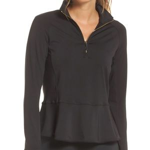 Kate Spade Scalloped Athletic Pullover